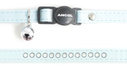 Ancol Deluxe Jewelled Cat Collar Baby Blue