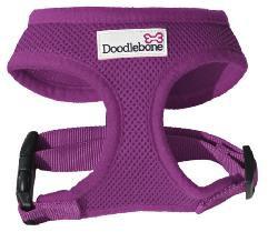 Doodlebone Dog Harness Purple Medium