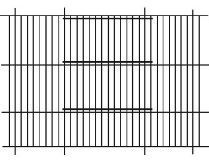 """Budgie Cage Front (24x12"""")"""