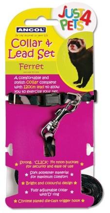 Just 4 Pets Ferret Collar & Lead Set