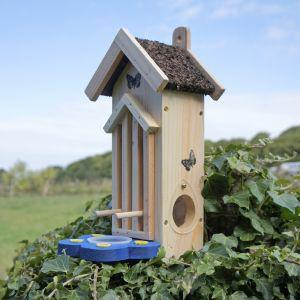 Wildlife World Butterfly Moth Habitat Feeder