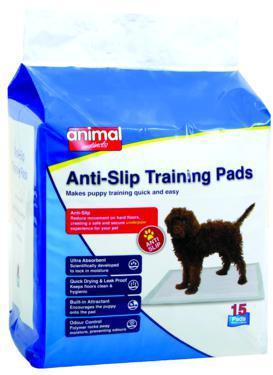 Animal Instincts Anti-Slip Training Pads 60 x 60cm 15's