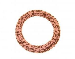 Happy Pet Rope Ring Large Pink