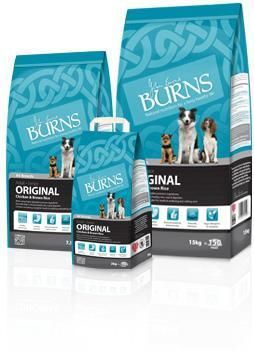 Burns Chicken and Brown Rice Dog Food 15 Kg