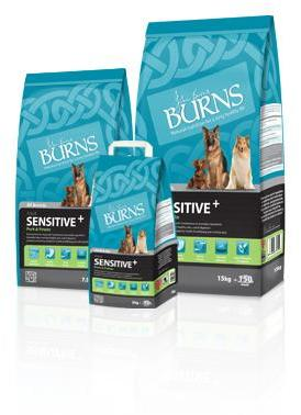 Burns Sensitive Pork and Potato Dog Food 7.5Kg