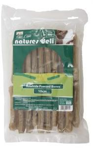Pressed Rawhide Knuckle 10cm Pack of 20 Dog Treats