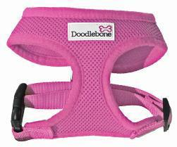 Doodlebone Dog Harness Pink Medium