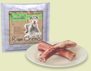 Natures Menu Raw Beef Ribs Dog Treat