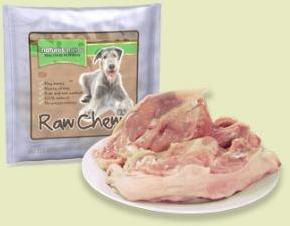 Natures Menu Raw Chicken Portion with Whole Bone Dog Treat