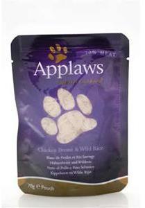 Applaws Cat Pouch Chicken Breast & Wild Rice 70g x 12