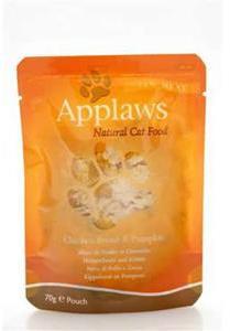 Applaws Cat Pouch Chicken Breast & Pumpkin 70g x 12