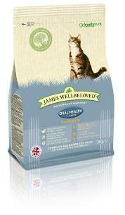 James Wellbeloved Cat Food Turkey Oral Health 300g
