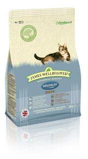 James Wellbeloved Cat Food Duck & Rice House Cat 300g