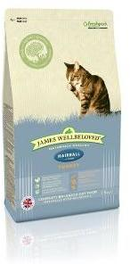 James Wellbeloved Cat Food Turkey Hairball 1.5kg