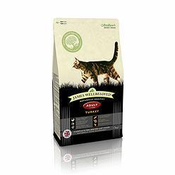 James Wellbeloved Turkey Adult Cat Food 1.5kg