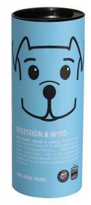 Pooch & Mutt Digestion & Wind Mini Bone Dog Treat 125g