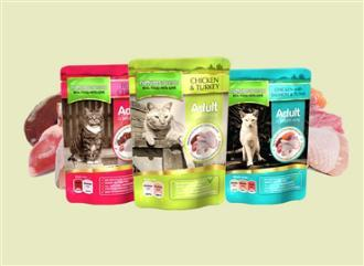 Natures Menu Cat Food Mixed Flavours 48 X 100g Pouches