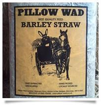 Pillow Wad Barley Straw 0.80kg