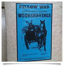 Pillow Wad Wood Shavings 1kg