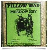 Pillow Wad English Meadow Hay 1kg