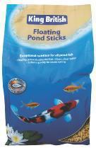 King British Floating Food Sticks 475g