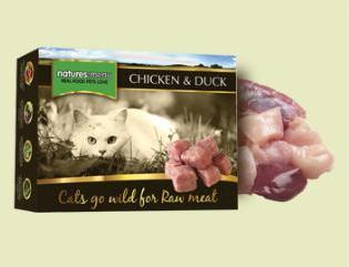 Natures Menu Raw Cat Food Chicken and Duck 400g