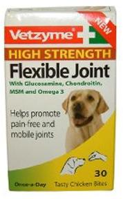 Vetzyme Flexible Joint Tablet High Strength 30 Tab