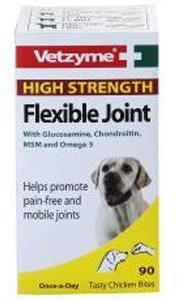 Vetzyme Flexible Joint Tablet High Strength 90 Tab