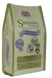 Simpsons Puppy Food Sensitive Salmon & Potato 12kg