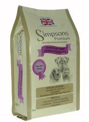Simpsons Senior/Light Chicken & Brown Rice Dog Food 12kg