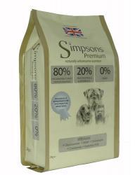 Simpsons 80/20 Mix Dog Food 12kg