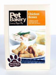 Pet Bakery Chicken Bones Dog Treats 240g