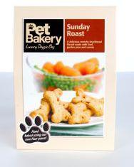 Pet Bakery Sunday Roast Bones Dog Treats 240g