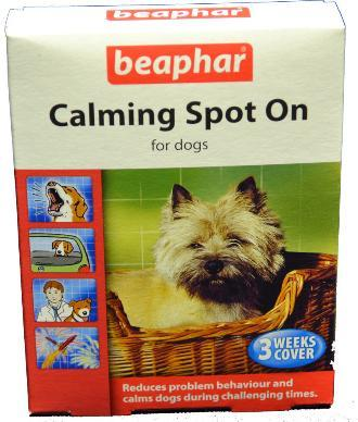 beaphar calming spot on for dogs from pet shopper. Black Bedroom Furniture Sets. Home Design Ideas