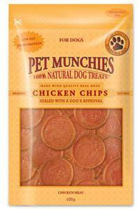 Pet Munchies Chicken Chips Dog Treats 8 packs for price of 7