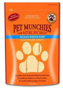 Pet Munchies Ocean Fish Strips Dog Treats 8 for price of 7