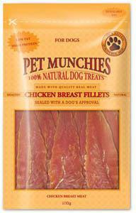 Pet Munchies Chicken Breast Fillet Dog Treats 8 packs for price of 7
