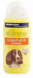 Ancol Lemon & Grapefruit Dog Shampoo 200ml