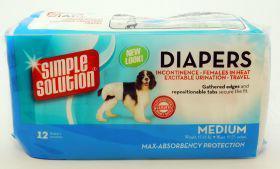 Simple Solution Disposable Diaper Medium (12's)