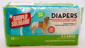 Simple Solution Disposable Diaper X Large (12's)