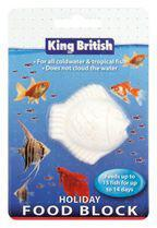 King British Holiday Fish Food Block