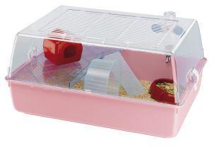 Ferplast Mini Duna Pink Hamster Cage