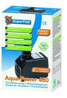 Superfish Aquapower Aquarium 400 Pump 380L/H