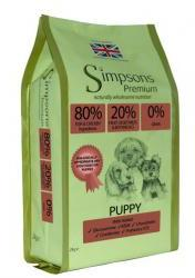 Simpsons 80/20 Puppy Food Fish & Chicken 2kg