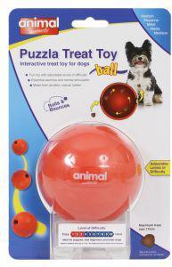 Puzzla Treat Ball Dog Toy