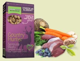 Natures Menu Country Hunter Venison and Blueberry Nuggets Dog Food 700g