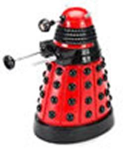 Doctor Who Dalek Fish Tank Ornament Red 6 inch