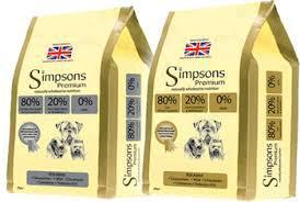 Simpsons Dog Food range