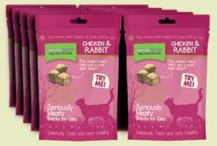 Natures Menu Freeze Dried Chicken with Rabbit Cat Treats
