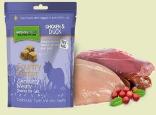 Natures Menu Raw Freeze Dried Chicken and Duck Cat Treats